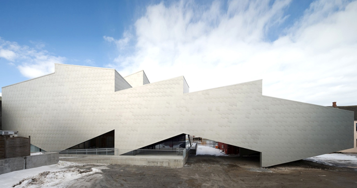 Cobe And Transform Architects Open Jagged Aluminum Clad