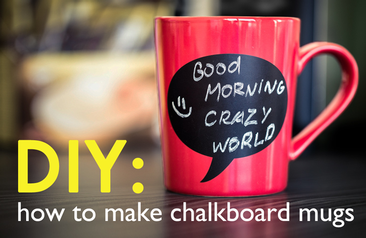 inexpensive and easy to make chalkboard mugs are ideal for any tea or coffee aficionado on your list you can also decorate them as presents for - Coffee Mug Design Ideas
