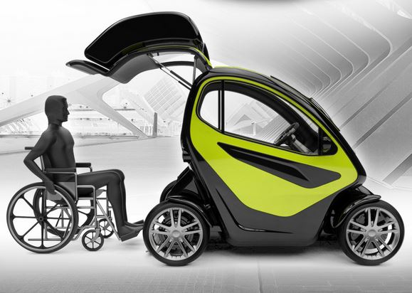 Equal Smart Compact Ev For People With Disabilities 1