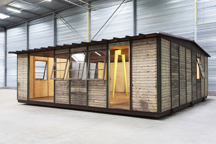 Jean Prouve S Maison 8x8 Pioneered Affordable Prefab Design Way Back