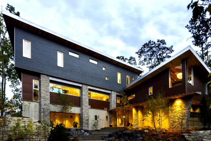 M 22 House Runs On Geothermal Amp Hydropower In Northern