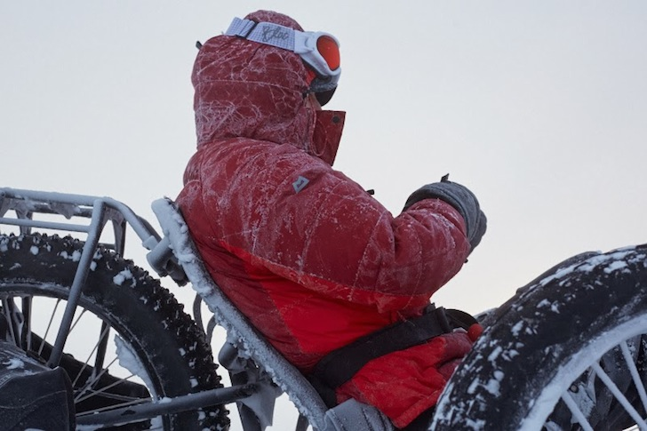 Maria Leijerstam Becomes the First Person to Cycle to the South Pole