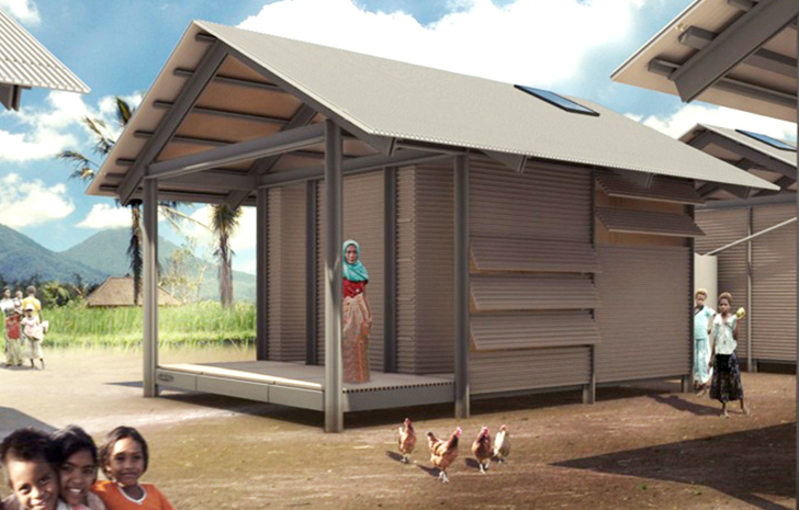Singapore-based Nevhouse builds efficient prefab houses out of recycled  plastic waste. The low-cost homes require minimal maintenance, they are  fire and ...