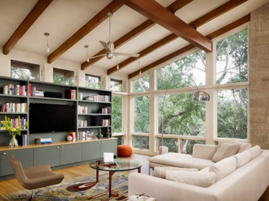 North Peak House, Furman Keil Architects, austin, texas, green home, eco home, healthy house, indoor air quality