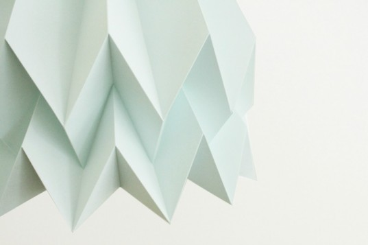 origami, blaanc, adobe for women, origami, paper lamps, green design, eco lamps, eco design, sustainable design, social organisation