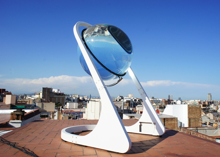 Rawlemon's New Betaray Crystal Ball Harvests Light From The Sun, Moon and Clouds!