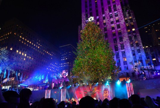 Rockefeller Tree Lighting 2014 Far « Inhabitat