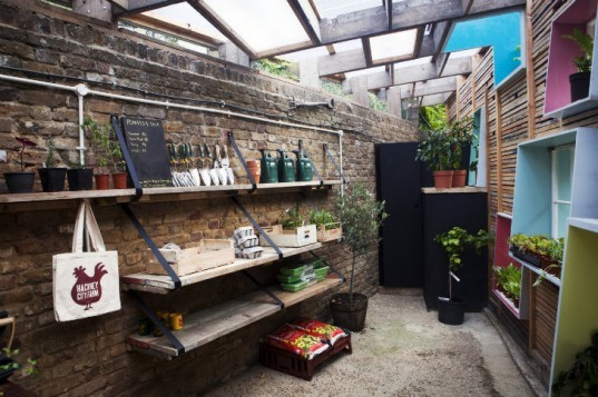 Sill to Sill, sill-to-sill, Hackney City Farm, reclaimed materials, recycled materials, gift shop, london