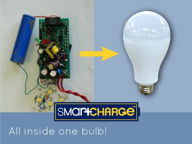 Smartcharge LED Light Bulb « Inhabitat – Green Design