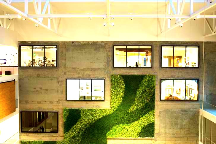 airbnb office design san. new airbnb headquarters boast a 1226 sq foot green wall over three floors inhabitat design innovation architecture building airbnb office san