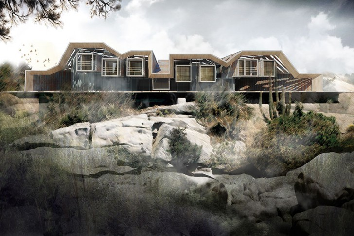 Architecture House Competition ales javurek wins container vacation house competition | inhabitat