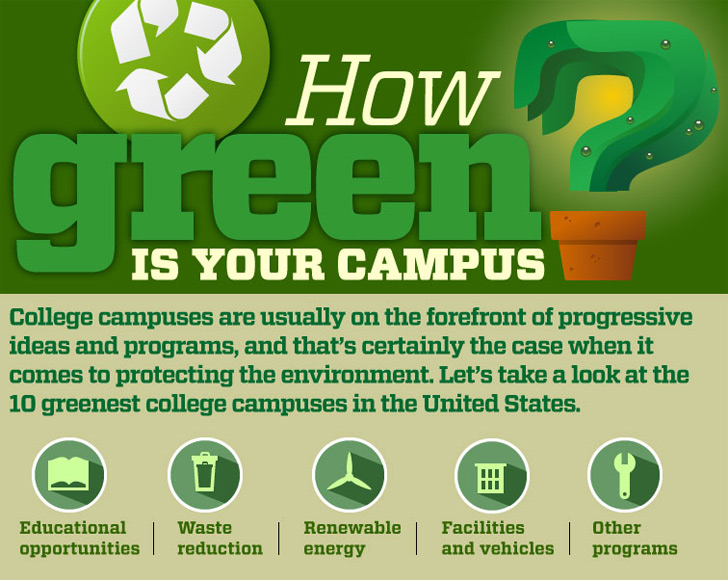 INFOGRAPHIC How Green Is Your Campus
