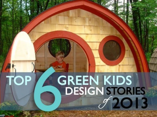 Inhabitots, best green design, green design for kids, treehouse design, kids treehouse, kids furniture, folding furniture, best green design for kids, hobbit house, playhouse, LEGO, LEGO scientist,
