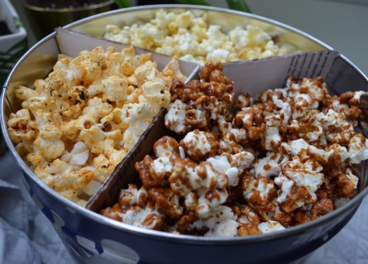 giant popcorn tins are as common as christmas trees around the winter holidays but lets face it though delicious these popcorns are far from healthy