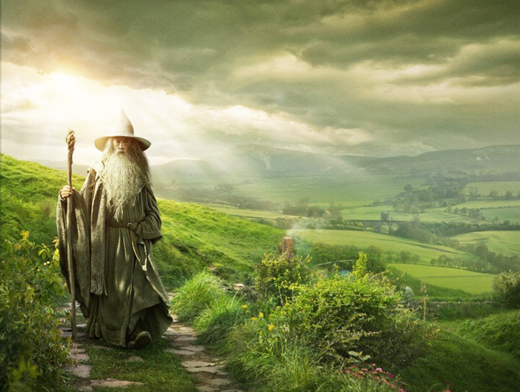 Climate Change in Middle Earth: Supercomputer Creates Real Weather Patterns for J.R. Tolkien's Fictional World
