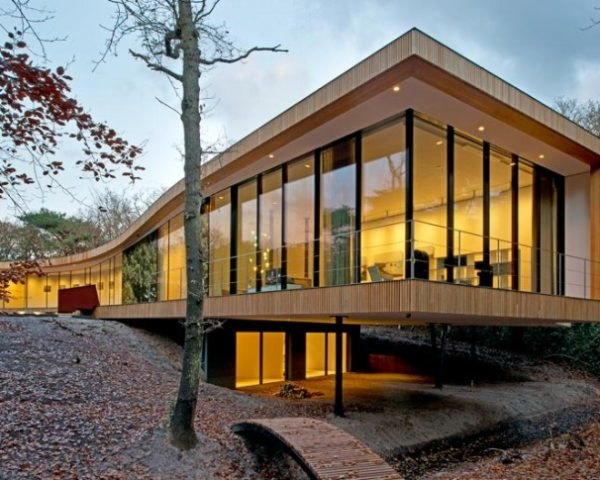 architectencsk, villa k, bergen, netherlands, energy efficiency, energy neutral, sustainable building, sustainable building materials