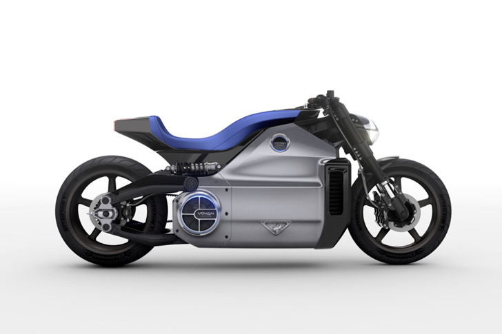 The Voxan Wattman is the World's Most Powerful Electric Motorcycle