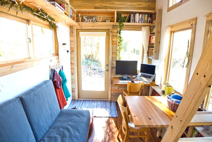 Alek Lisefkis Tiny House is a luxurious eco friendly dream on