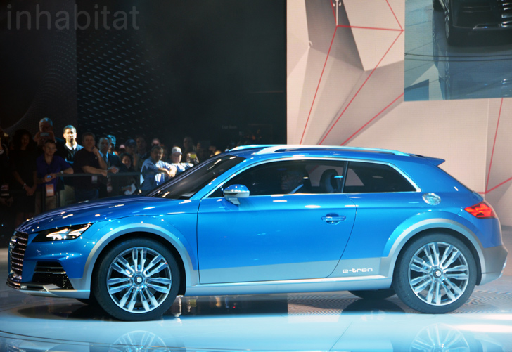 Audi Unveils Allroad Shooting Brake Hybrid At The 2017 Detroit Auto Show