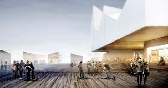 WHCA architecture, WHCA, Warshaw architects, floating pavilions Estonia, Estonian architecture, architectural competitions, Baltic Sea Park Competition, Baltic Sea Park, pavilion architecture, floating architecture, multiuse spaces, multifunctional architecture