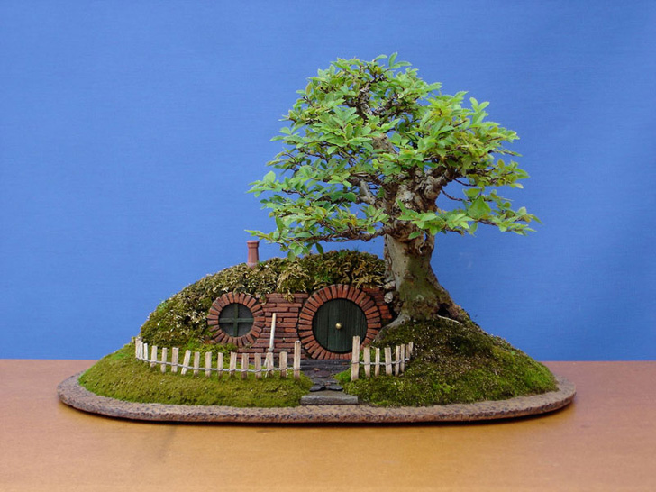 Amazing Bonsai Tree Hobbit Hole Is Fit For Frodo Baggins Himself    Inhabitat   Green Design, Innovation, Architecture, Green Building Photo