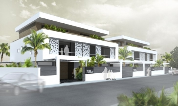 Four Houses Project Implements Traditional Islamic Features for a ...