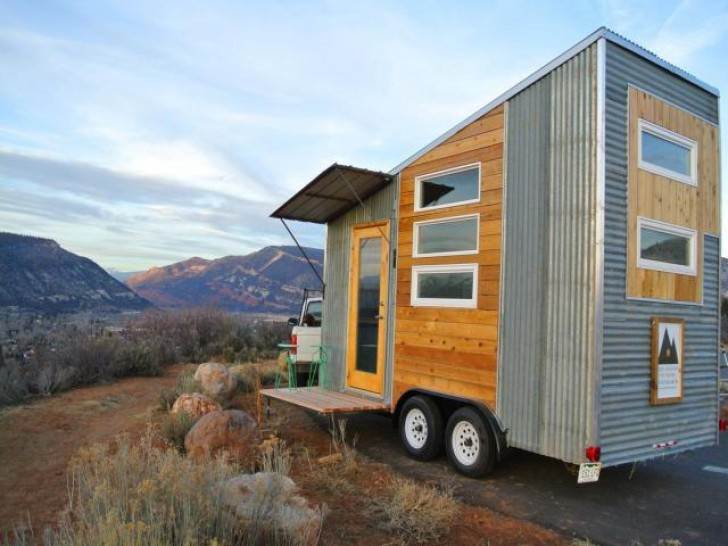 Mini Houses On Wheels the durango tiny house on wheels is a minimalist traveler's dream
