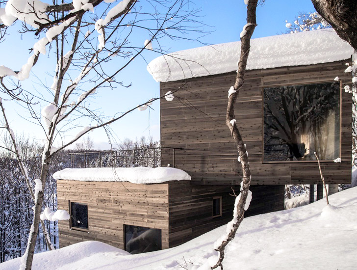 L House Minimalist Holiday Home Offers Stunning Views Of Japan S