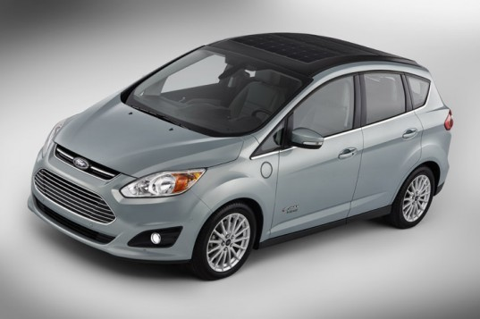Ford, Ford C-MAX Solar Energi concept, Ford C-MAX, 2014 CES, solar power, electric car, electric motor, plug-in hybrid, solar car, ford solar car, ford plug-in hybrid, Ford's first solar-powered car