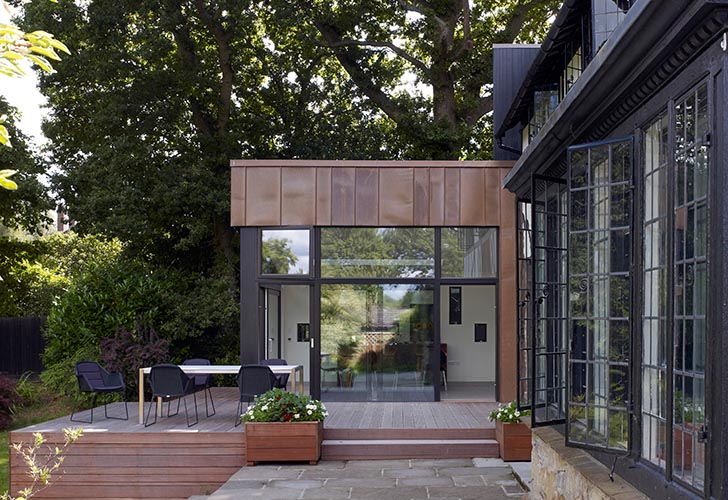 Architecture & Jerry Tate Architects Unveils Modern Green Addition to a Historic ...