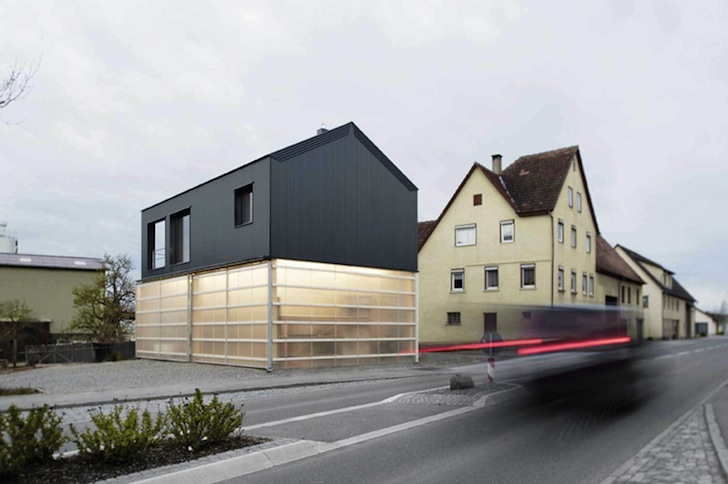 House Unimog Creatively Stacks Contemporary Living Atop A