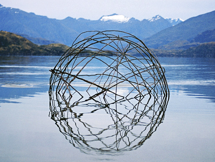 Populaire Spectacular Land Art Sculptures Made From Sticks and Stones  VO37
