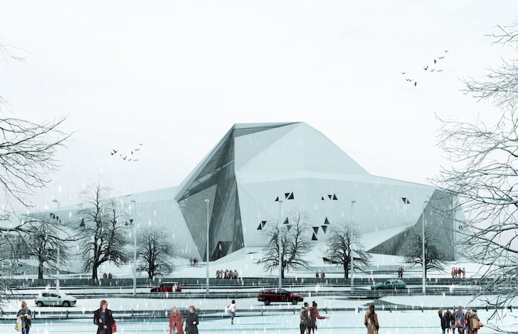 Polur's Mountain-Like Rock Climbing Hall is Designed to be ...
