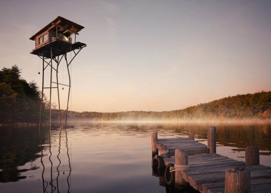 green design, eco design, sustainable design, Jack Daws, Olson Kundig Architects, Walden Pond, The House That Jack BUilt, cabin on a lake, environmental destruction