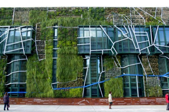 Palace of Congresses, Urbanarbolismo, unusualgreen, vertical garden, green facade, vitoria-gasteiz, living wall