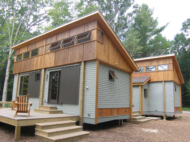 Compact Modular Pre-Fab Cottage Made from Local Materials ...