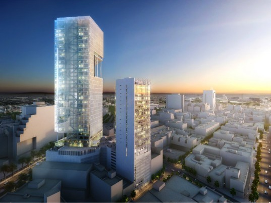 Reforma Towers, Richard Meier and Partners, mixed-use tower, mexico city, daylighting, eco tower