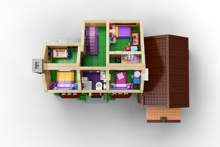 Bon Simpsons House Interior LEGO « Inhabitat U2013 Green Design, Innovation,  Architecture, Green Building