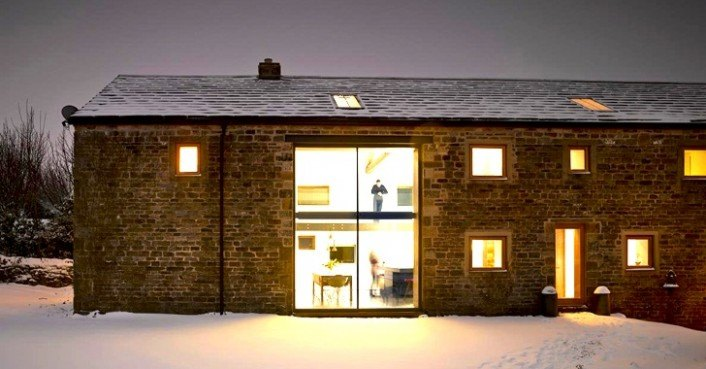 Snook architects cathill barn inhabitat green design for Modern house yorkshire