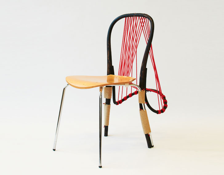 Ordinaire Paulo Goldstein Transforms Discarded Items Into Dynamic Furniture For  Central Saint Martinsu0027 New Parlour | Inhabitat   Green Design, Innovation,  ...