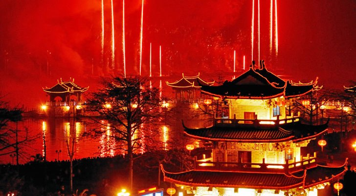 china calls for fireworks ban during lunar new year celebration to curb air pollution inhabitat green design innovation architecture green building - Chinese New Year Fireworks