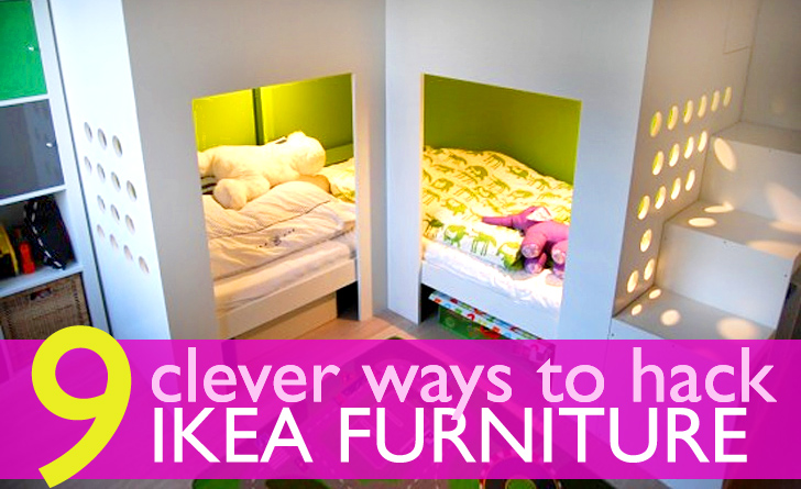 9 Ingenious Ways to Hack IKEA Furniture for Tiny Apartments