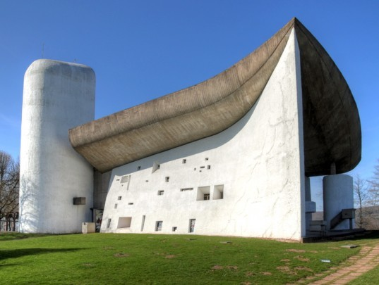 Le Corbusier\'s Iconic Ronchamp Chapel Damaged by Vandals ...