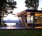 Beautiful Modern Retreat is a Tranquil Oasis on the Puget Sound in Washington