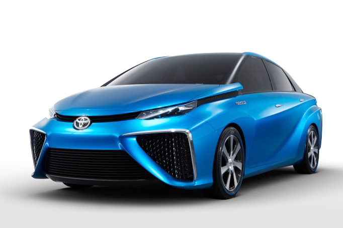 Toyota Unveils Zero Emissions Hydrogen Fuel Cell Vehicle At - 2015 toyota vehicles