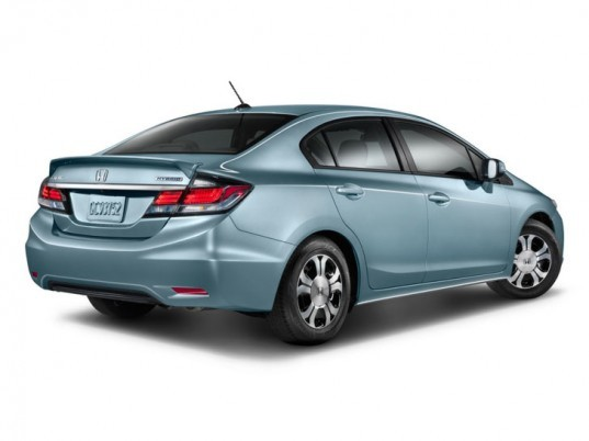 Honda, Honda Civic, Honda Civic Hybrid, Honda Civic Natural Gas, Honda hybrid, hybrid, natural gas car, hybrid car, green car, green transportation, electric motor