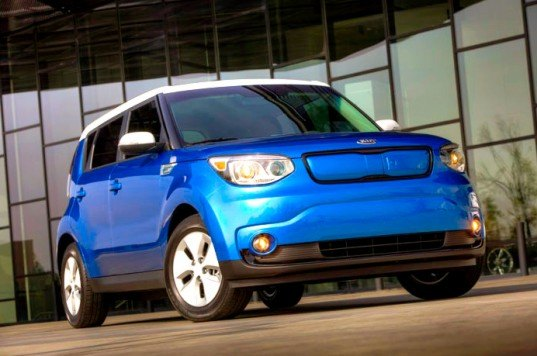 Kia, Kia Soul, Kia Soul EV, 2015 Soul EV, Kia electric vehicle, electric vehicle, 2014 Chicago Auto Show, green transportation, green car, electric motor, lithium-ion battery