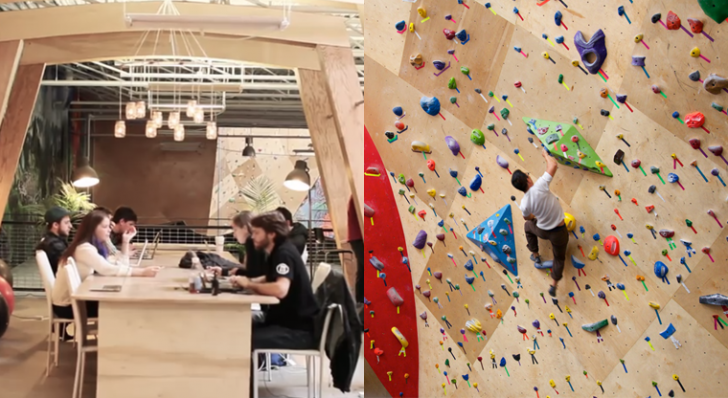 Brooklyn Boulders Rock Climbing Gym Allows Workers to ...