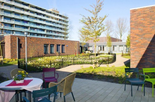De Hogeweyk village, De Hogeweyk dementia center, Dementiavillage, Dementiavillage The Netherlands, Netherlands architecture, socially responsible design, memory loss patients, care centers for elderly