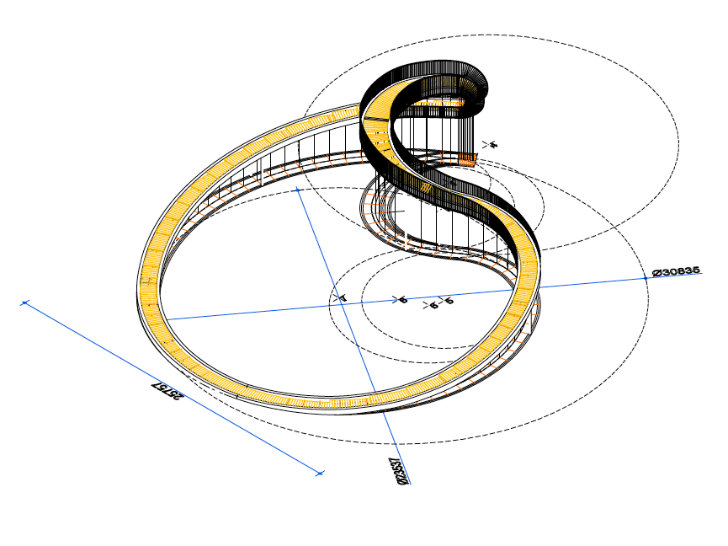 Next architects elastic perspective is an impossible for Architecture impossible